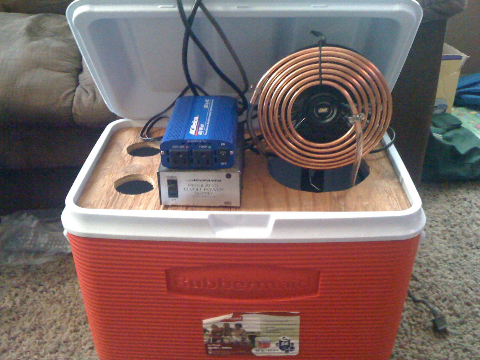 Diy Air Conditioner No Electricity My Electric Car Homemade Air Conditioner