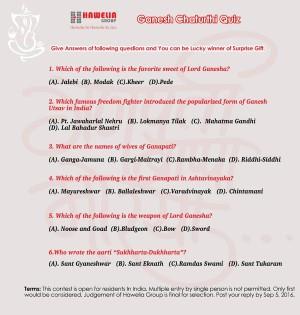 Ganesh Chaturthi Quiz Contest