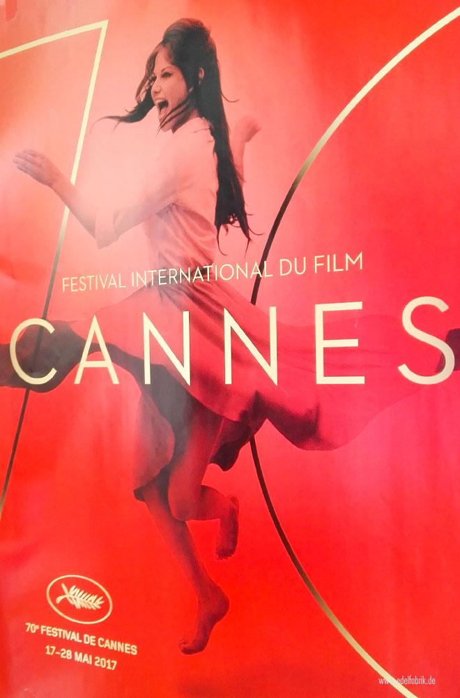 Das Plakat der 70 Filmfestspiele in Cannes