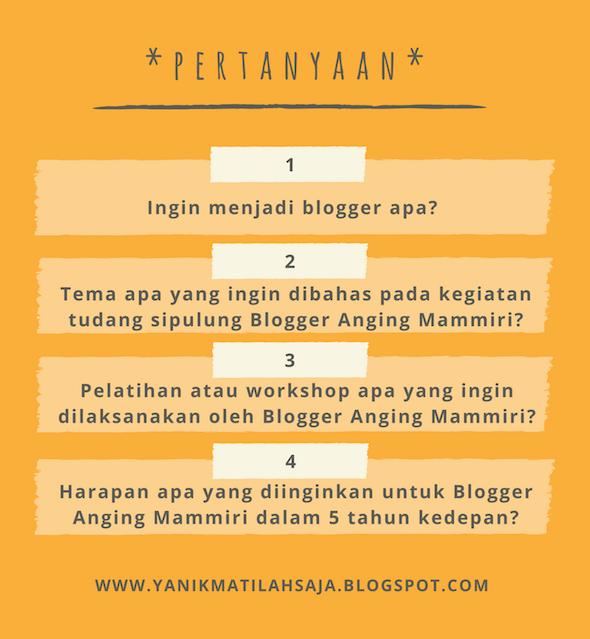 Gathering Blogger Makassar Anging Mammiri 2017 Yanikmatilah Saja