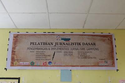 pelatihan jurnalistik gampong
