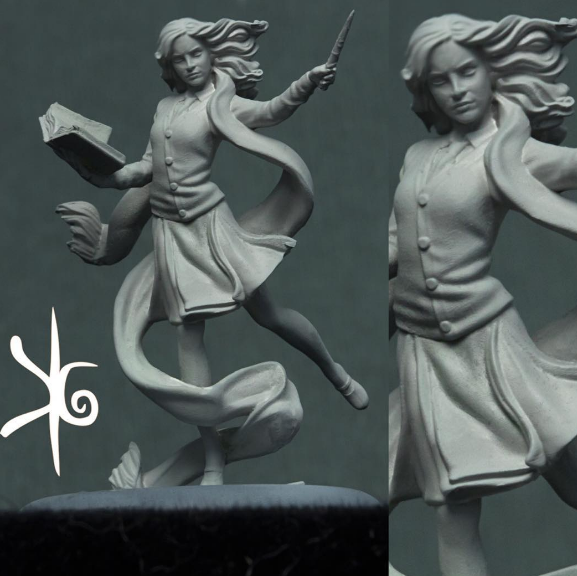 Knight Models: Harry Potter Miniature Game -  Hermione Granger Preview