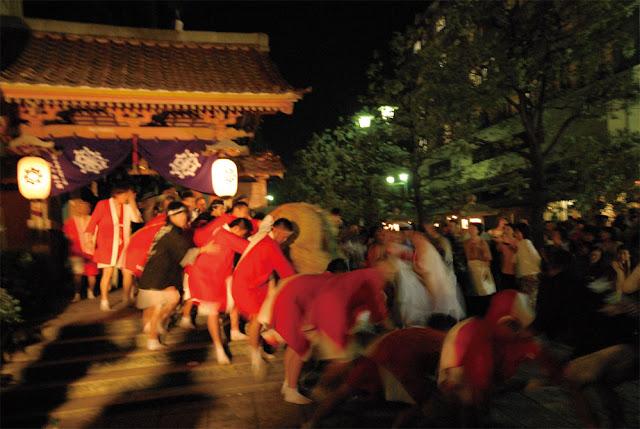 Shobu-Yu Matsuri at Kaga Yamashiro Hot Springs, Ishikawa