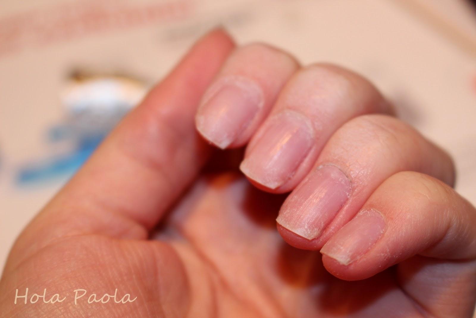 Semilac Hard jak zdjąć harda hybryde paznokcie sztuczne akryl żel gel nails aceton polish jak usunąć hard przedłużanie hybrydą budowa na formie sztuczny paznokieć nude