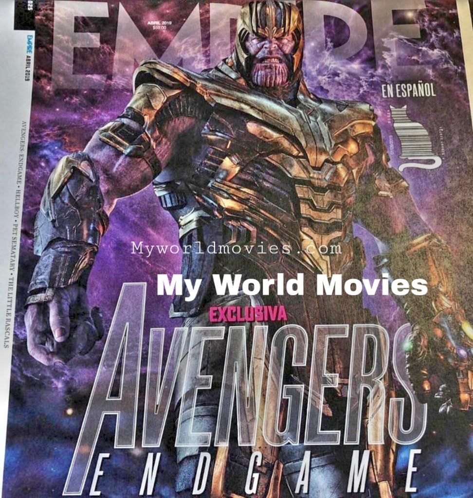 Avenger Endgame First Look At Thanos & Breakdown (Explain in