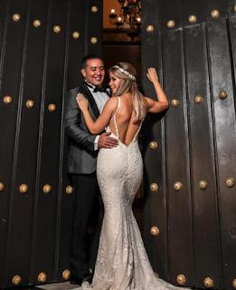 Zugey Lamela vestido novia a sus 38 años de edad