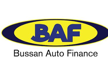 Lowongan Kerja D3 PT. Bussan Auto Finance (BAF) Semua Jurusan
