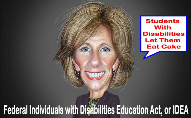 Image result for SPECIAL EDUCATION TEACHER ON WHAT DEVOS MEANS FOR STUDENTS