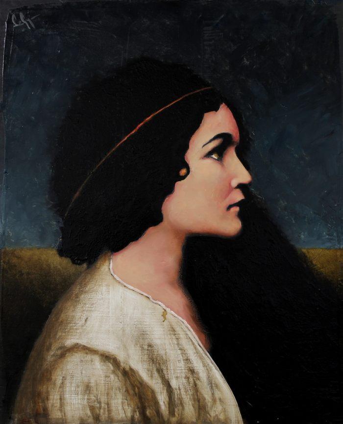 Венгерский художник. Szabo Gyula