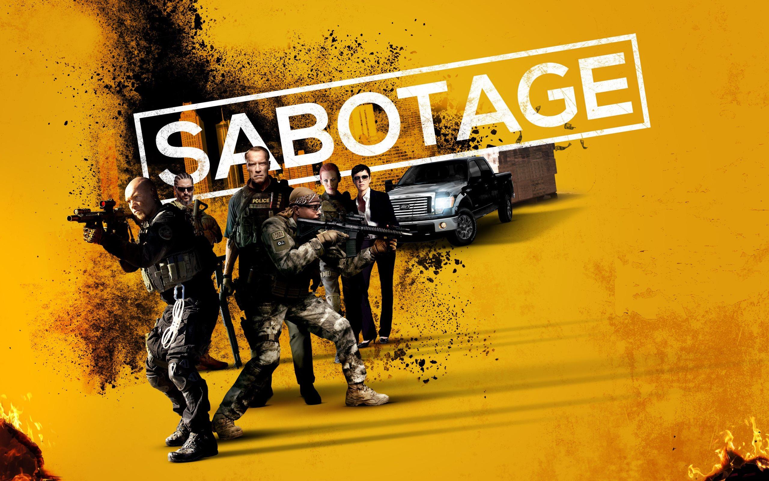 2014 Sabotage Movie Wallpapers · 4K HD Desktop Phone