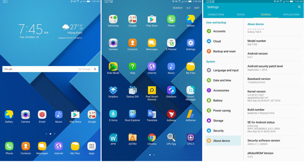 Galaxy Tab 4 Custom Rom