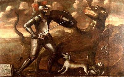 Ο ιππότης που σφαγίασε τον τρομερό Δράκο της Ρόδου, το 1342…
