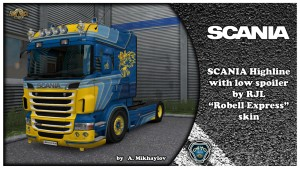 "Scania RJL ""Robell Express"" Kit"
