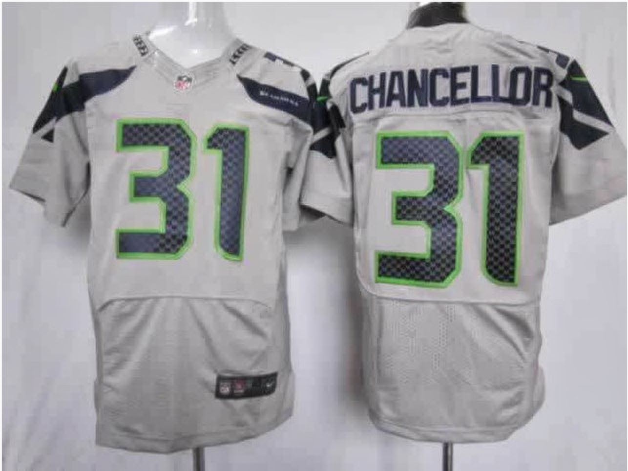 528ed5be8 Nike Youth Limited Grey Alternate Jersey Seattle Seahawks Kam Chancellor #31  cheap Nike NFL jersey Seattle Seahawks Jerseys review ...
