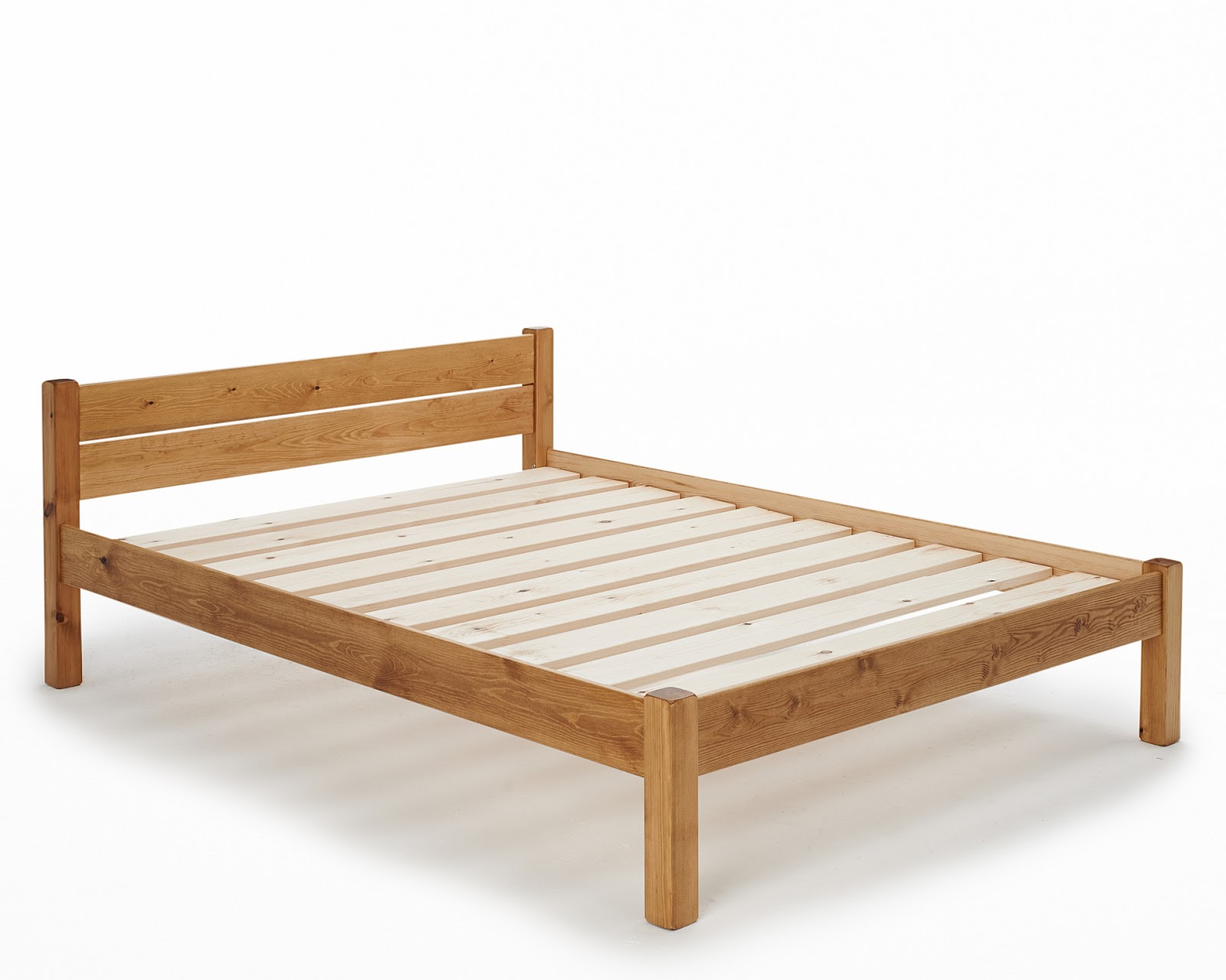 Innerspring Mattress On Platform Bed