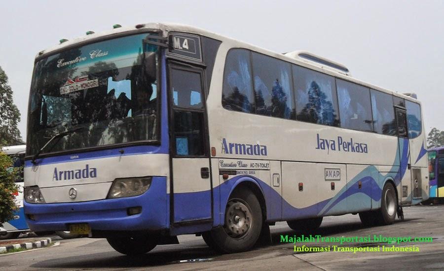 rute dan tarif bus armada jaya perkasa ajp jurusan merak, serang, kampung rambutan, pulo gadung, semarang, solo, wonogiri