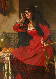 Valentine Cameron Prinsep - Carmen