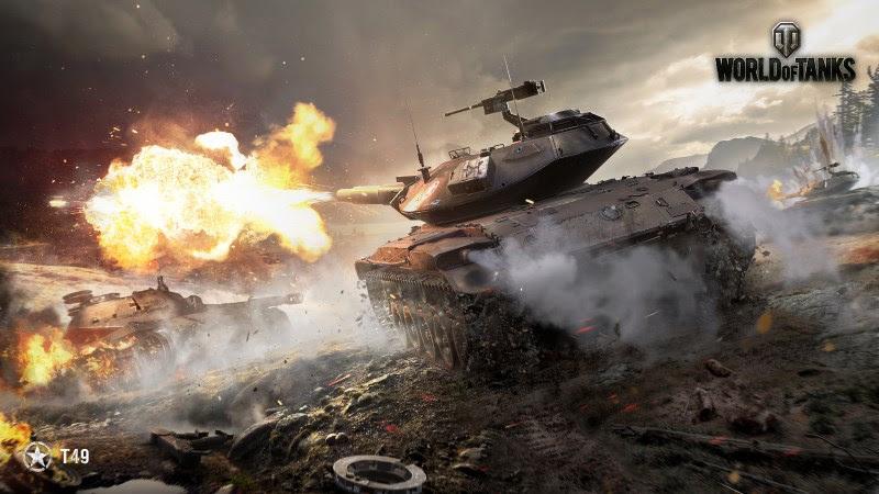 World Of Tanks (T49) HD