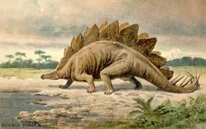 про динозавров стихи