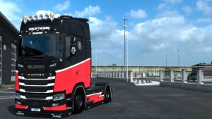 Sirius Skin for Scania S
