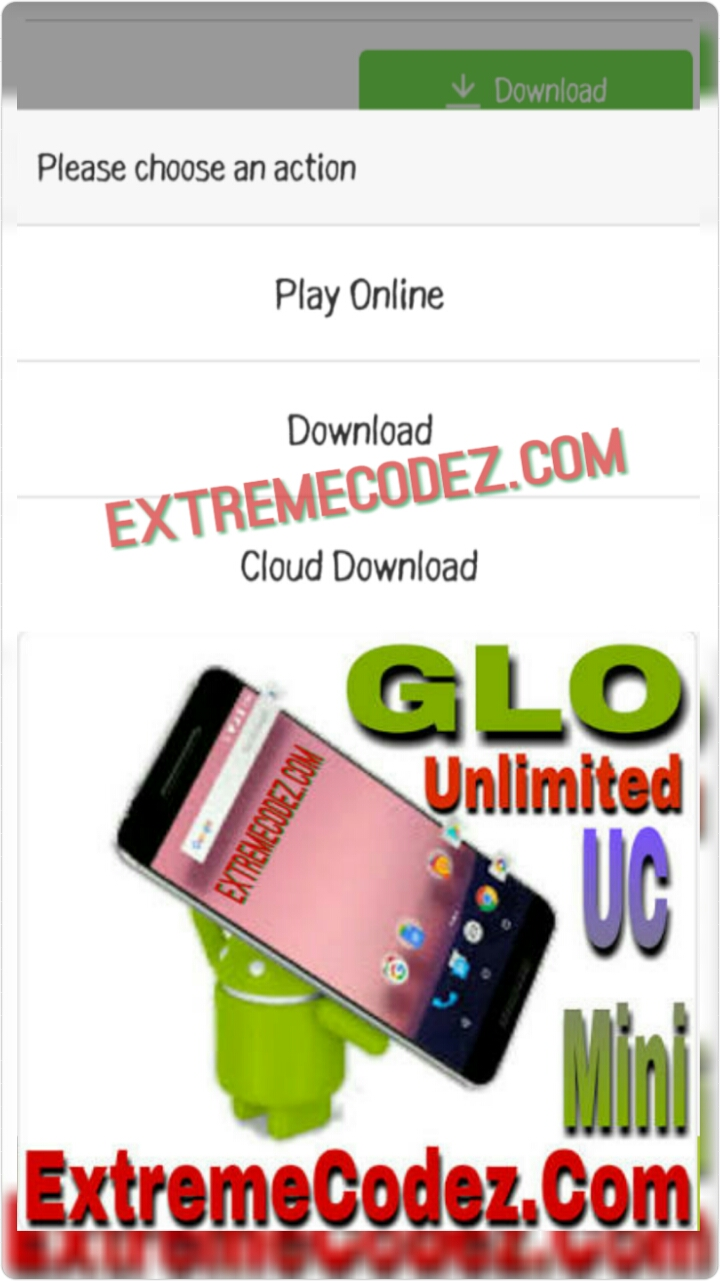 Glo Unlimited Free Browsing, Downloading 2018 Via Uc Mini
