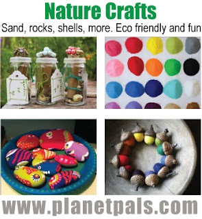 Nature Crafts #DIY Sand, Rocks, Clay, More!