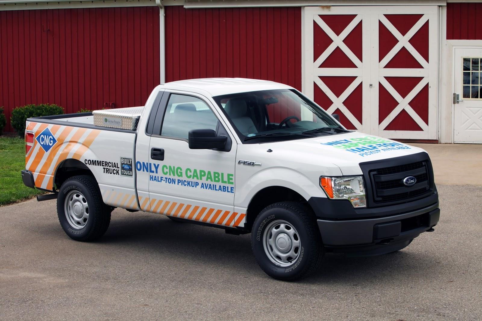 2014 Ford F-150, il peut carburer au gaz naturel et au GPL