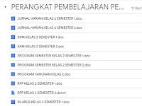 Perangkat Pembelajaran PJOK Kelas 2 SD Kurikulum 2013