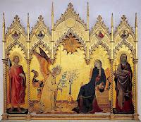 Simone Martini - Retablo de la Anunciación