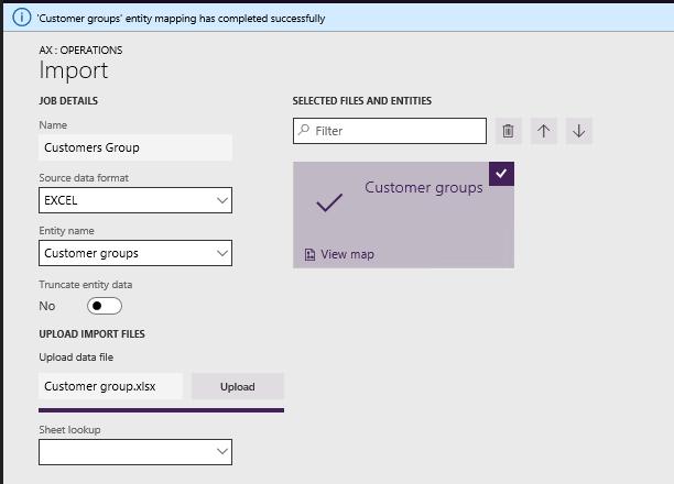Microsoft Dynamics 365FO/AX Hub: Import data in D365 using