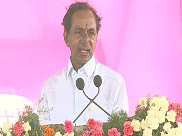 cm kcr speech at mission bhagiratha launching