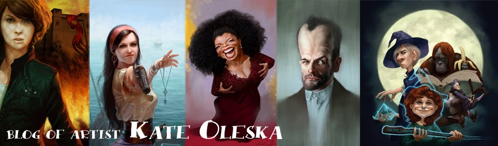 Blog of artist Kate Oleska