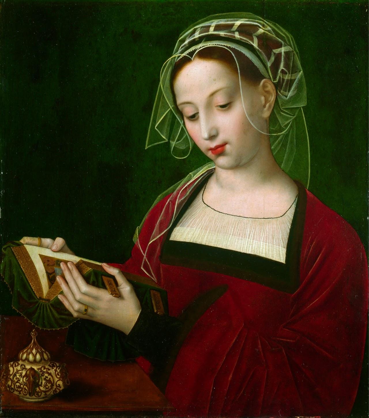 Ambrosius Benson (1495-1500-1550) - The Magdalen Reading