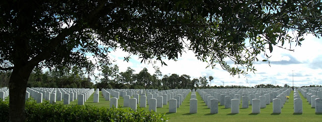 Vista panorámica del South Florida National Cemetery