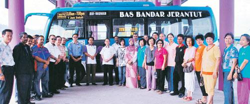 Bas Bandar Mula Beroperasi Di Daerah Ini Awal Bulan Ini Bagi Memberi