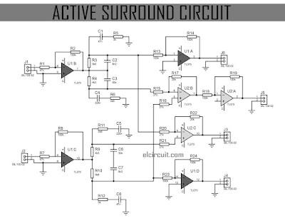 Active    Surround       Sound    Circuit  Electronic Circuit