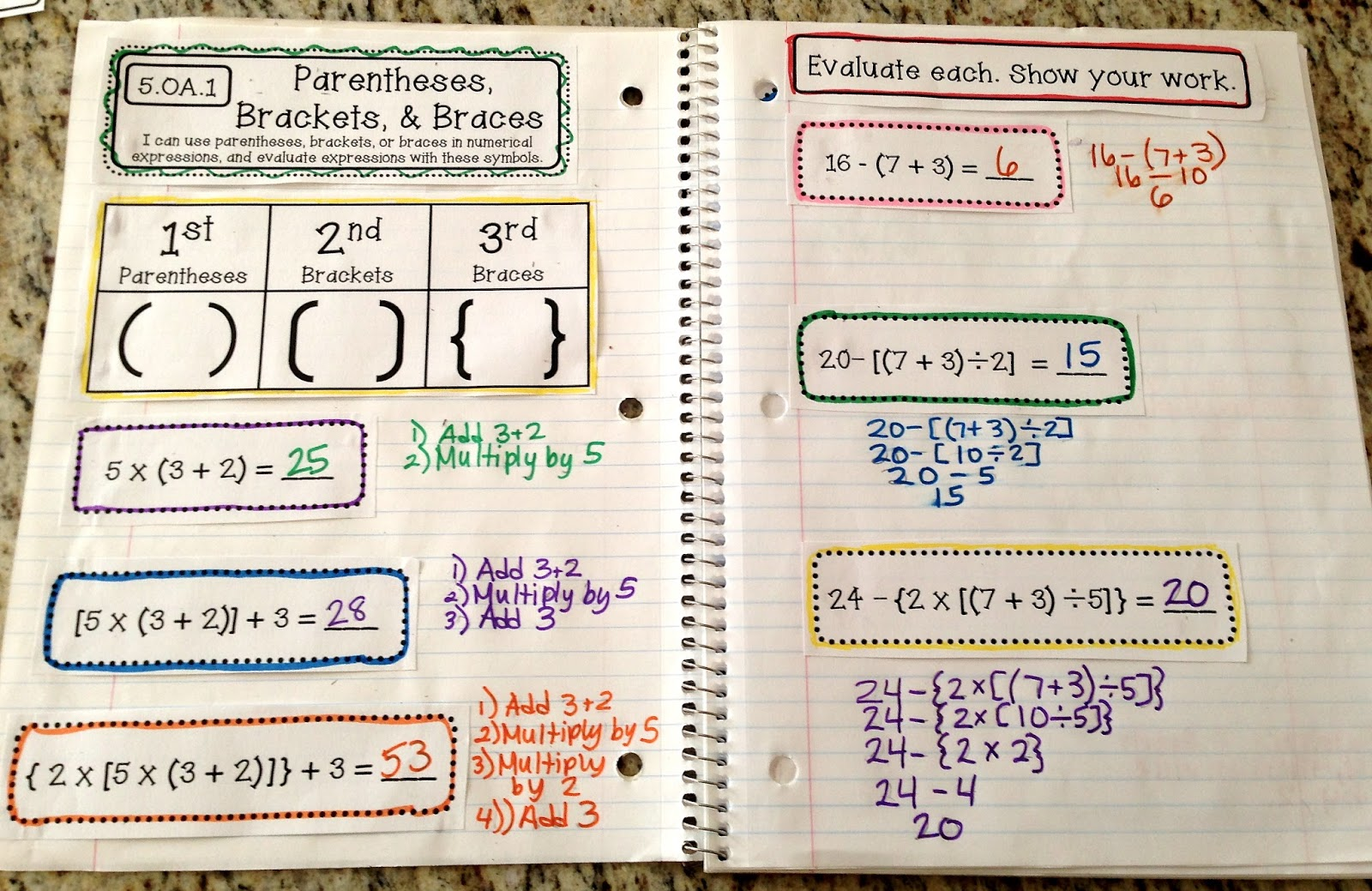 Teaching Science With Lynda Interactive Notebooks Ideas For Math