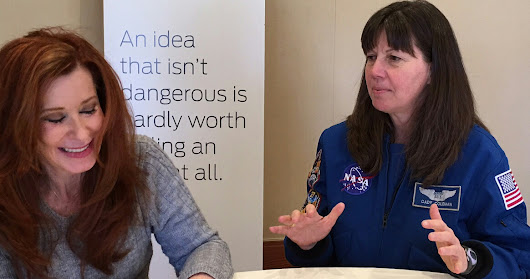 Denting the Universe with NASA Astronaut Cady Coleman