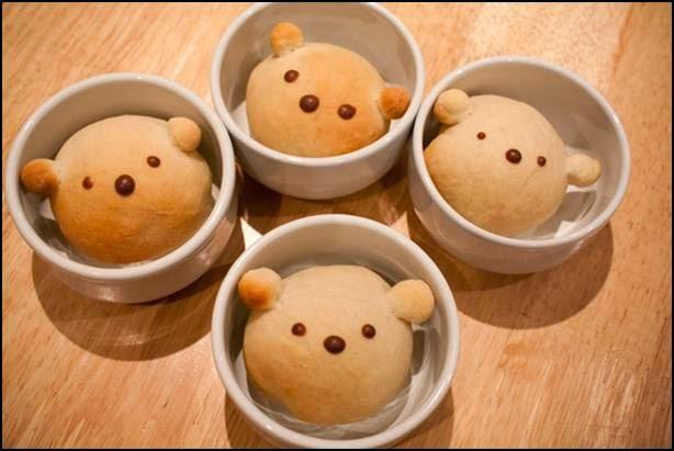 pão urso dia dos pais