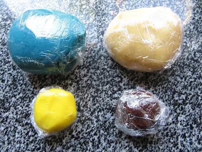 Galletas de mantequilla bicolor Thermomix