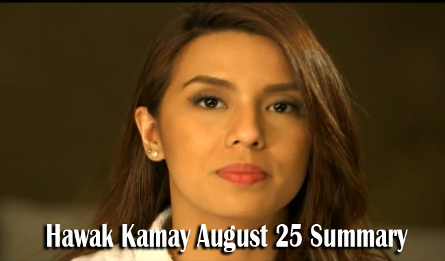 Hawak Kamay August 25,2014 Summary: The Return of the Past