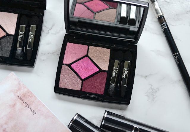 Dior Glow Addict Spring 2018 5 Couleurs Review