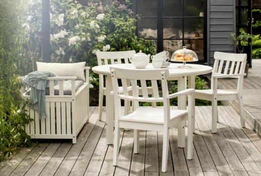 Las mejores mesas y sillas para tu terraza decoshabby - Ikea terraza y jardin ...