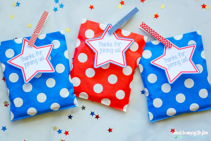 Patriotic Favors