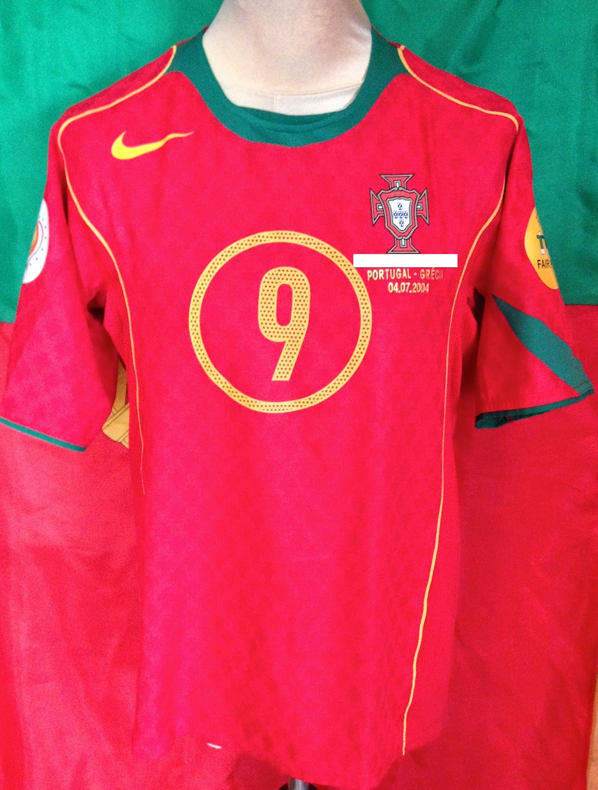 Match Worn Shirts FC Porto / Portugal: CAMISOLA DE JOGO