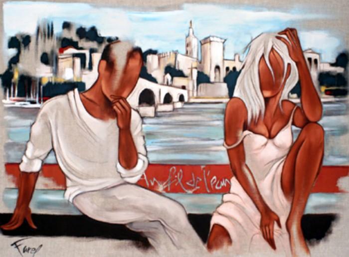 Современные художники Франции. Pierre Farel 3