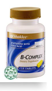 tangani STRESS?? B Complex Shaklee kan ada..