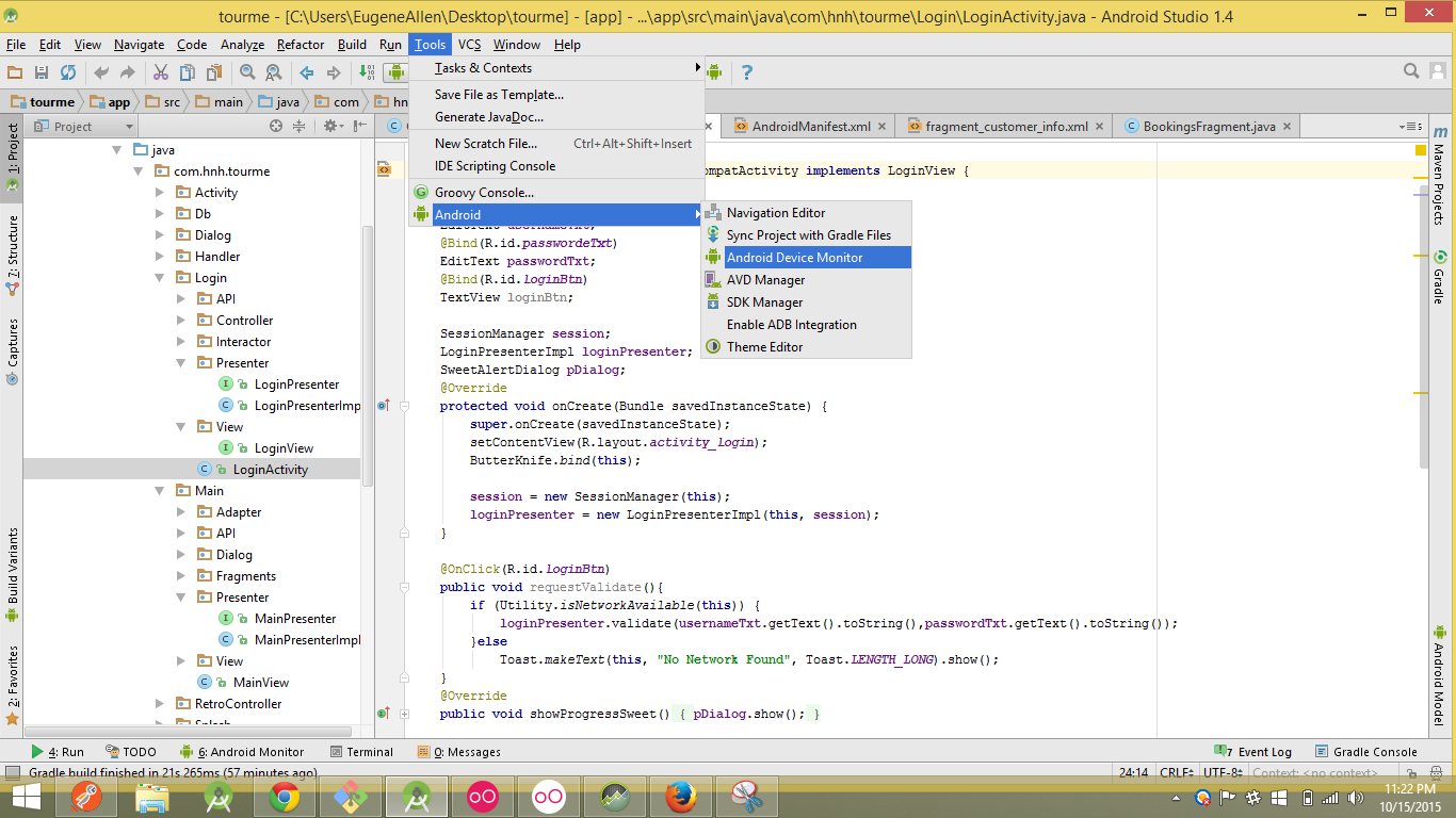 Android Development Tutorials: SQlite Manager for browsing