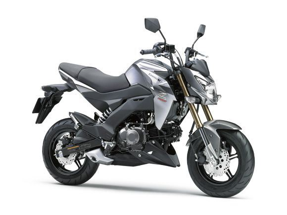 Kawasaki Z125 Silver Street Fighter mini