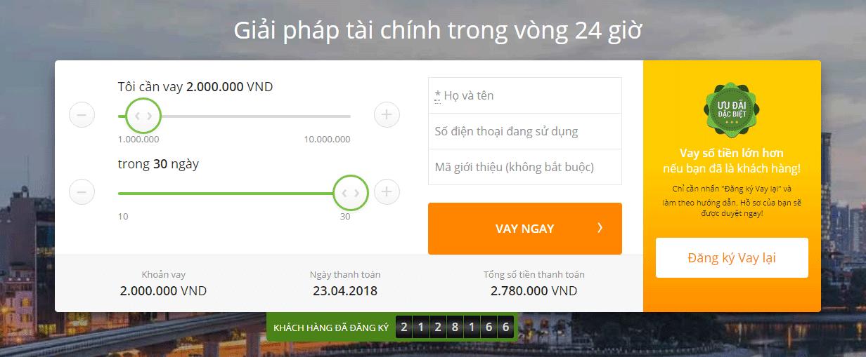 Vay tiền nhanh chóng với Doctor Đồng